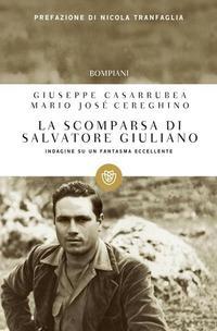 Copertina del libro La scomparsa di Salvatore Giuliano. Indagine su un fantasma eccellente