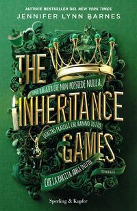 Copertina del libro The Inheritance Games